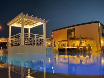 Aphrodite Beach Hotel, Vatera, Greece, Lesbos, hotel, Hotels
