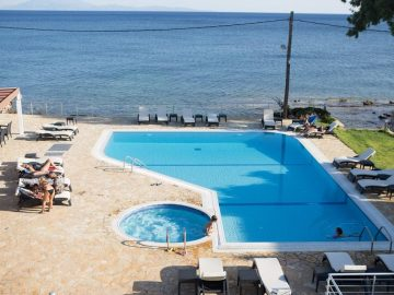 Blue Waves Resort, Plomari, Greece, Lesbos, hotel, Hotels