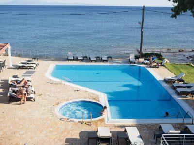 Blue Waves Resort, Plomari, Greece, Lesbos, hotel, Hotels