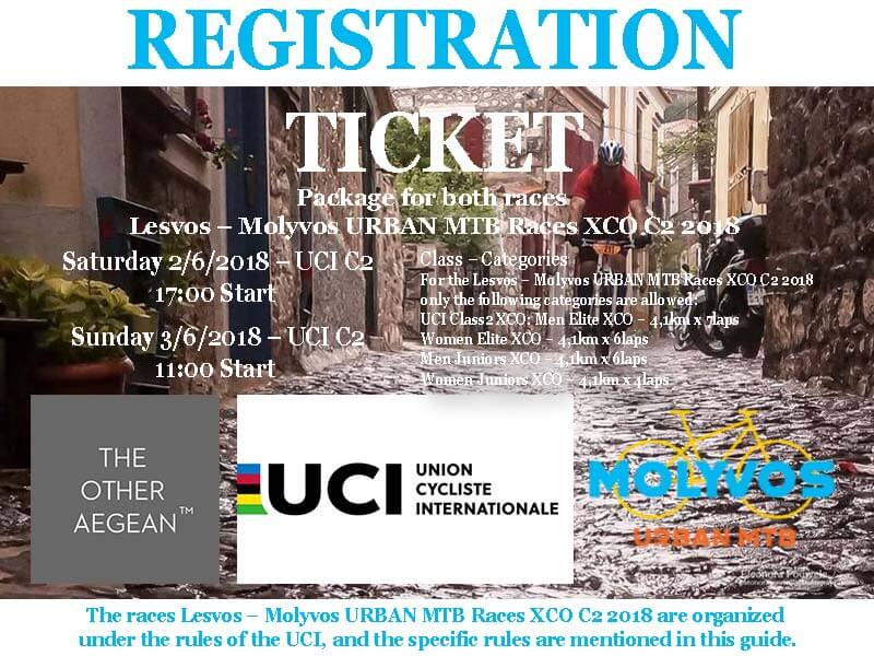 Molyvos URBAN MTB Races XCO 2018 Registration | Lesvorama