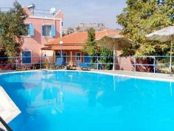 O' Kipos, Mythimna, Greece, Lesbos, hotel, Hotels