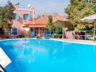 O' Kipos, Mythimna, Greece, Lesbos, hotel, Hotels