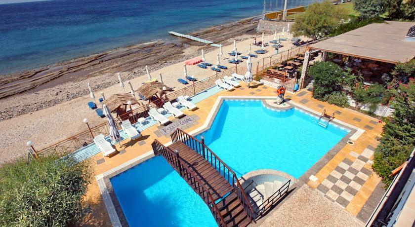 Pebble Beach Hotel Plomari Greece S Hotels